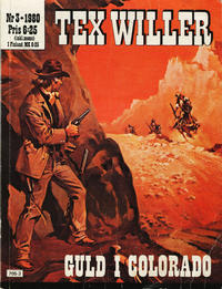 Cover Thumbnail for Tex Willer (Semic, 1977 series) #3/1980 - Guld i Colorado