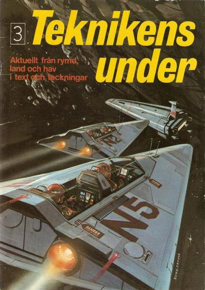 Cover for Teknikens under (Semic, 1976 series) #3