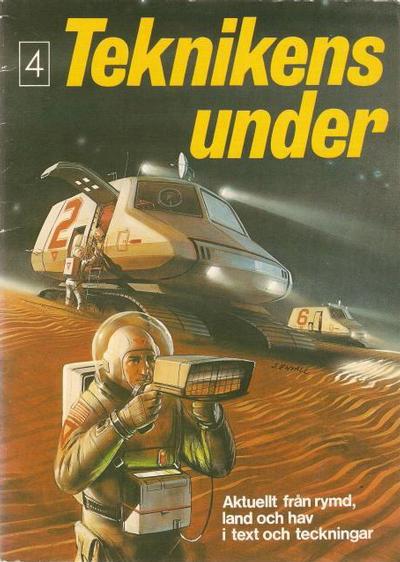 Cover for Teknikens under (Semic, 1976 series) #4
