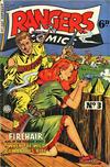 Cover for Rangers Comics (H. John Edwards, 1950 ? series) #3