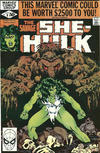Cover for The Savage She-Hulk (Marvel, 1980 series) #8 [Direct]