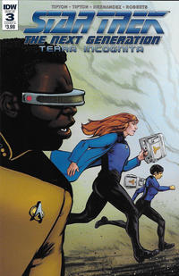 Cover Thumbnail for Star Trek: The Next Generation: Terra Incognita (IDW, 2018 series) #3 [Cover A]