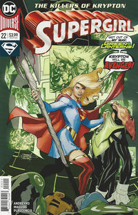 Cover Thumbnail for Supergirl (DC, 2016 series) #22