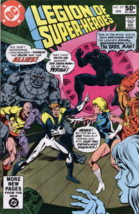 Cover Thumbnail for The Legion of Super-Heroes (DC, 1980 series) #271 [Direct]