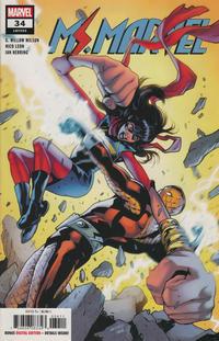 Cover Thumbnail for Ms. Marvel (Marvel, 2016 series) #34