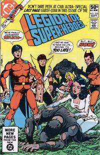 Cover Thumbnail for The Legion of Super-Heroes (DC, 1980 series) #279 [Direct]