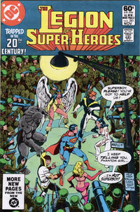 Cover Thumbnail for The Legion of Super-Heroes (DC, 1980 series) #281 [Direct]