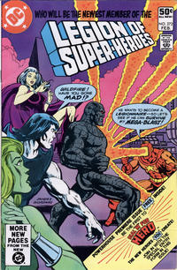 Cover Thumbnail for The Legion of Super-Heroes (DC, 1980 series) #272 [Direct]
