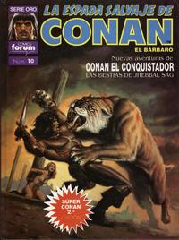 Cover Thumbnail for Super Conan 2ª Edición (Planeta DeAgostini, 1989 series) #10