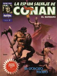 Cover Thumbnail for Super Conan 2ª Edición (Planeta DeAgostini, 1989 series) #7