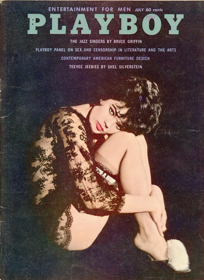 Cover for Playboy (Playboy, 1953 series) #v8#7