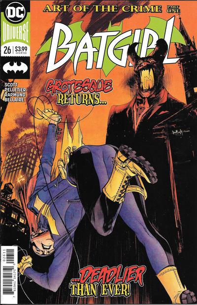 Cover for Batgirl (DC, 2016 series) #26