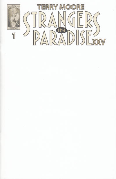 Cover for Strangers in Paradise XXV (Abstract Studio, 2018 series) #1