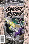 Cover for Ghost Rider (Marvel, 1990 series) #41 [Newsstand]
