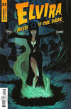 Cover for Elvira: Mistress of the Dark (Dynamite Entertainment, 2018 series) #1 [Cover D Craig Cermak]