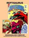 Cover for Gwandanaland Comics (Gwandanaland Comics, 2016 series) #3 - Reptisaurus