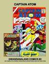 Cover for Gwandanaland Comics (Gwandanaland Comics, 2016 series) #2 - Captain Atom