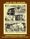 Cover for Gwandanaland Comics (Gwandanaland Comics, 2016 series) #7 - Jak of the Jaguars