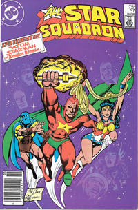 Cover Thumbnail for All-Star Squadron (DC, 1981 series) #57 [Newsstand]