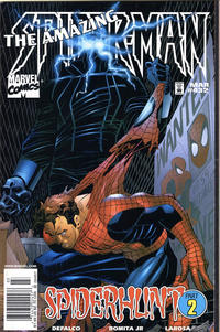 Cover for The Amazing Spider-Man (Marvel, 1963 series) #432 [Direct Edition]