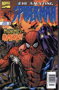 Cover for The Amazing Spider-Man (Marvel, 1963 series) #436 [Direct Edition]