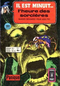 Cover Thumbnail for Il Est Minuit... l'Heure des Sorcières (Arédit-Artima, 1975 series) #5