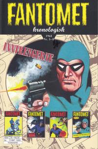 Cover Thumbnail for Fantomet kronologisk (Hjemmet / Egmont, 2017 series) #7 - 1968 Nr. 5-8
