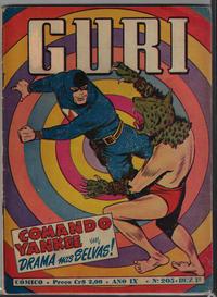 Cover Thumbnail for O Guri Comico (O Cruzeiro, 1940 series) #205