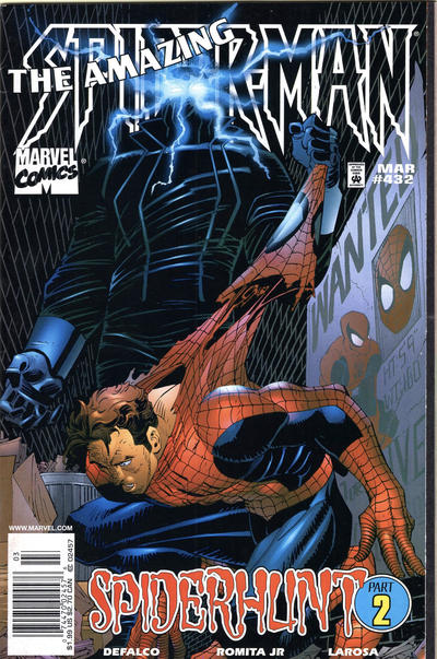 Cover for The Amazing Spider-Man (Marvel, 1963 series) #432 [Newsstand]