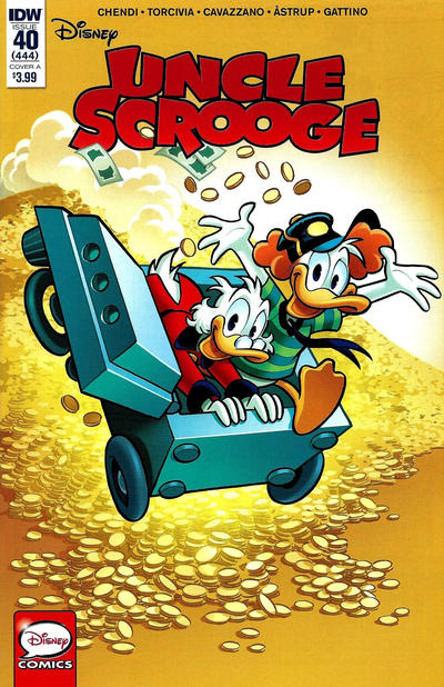Cover for Uncle Scrooge (IDW, 2015 series) #40 / 444 [Cover B - Alessio Coppola]