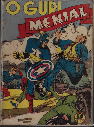 Cover for O Guri Comico (O Cruzeiro, 1940 series) #88