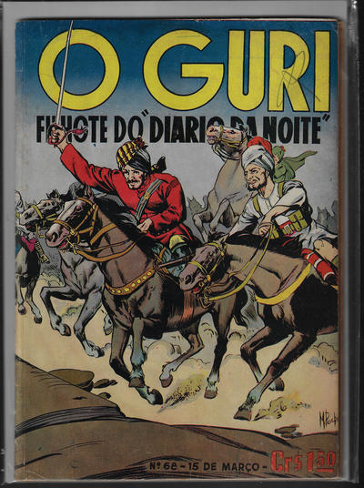 Cover for O Guri Comico (O Cruzeiro, 1940 series) #68