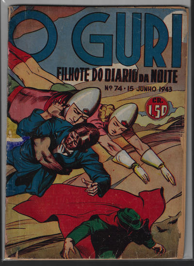 Cover for O Guri Comico (O Cruzeiro, 1940 series) #74