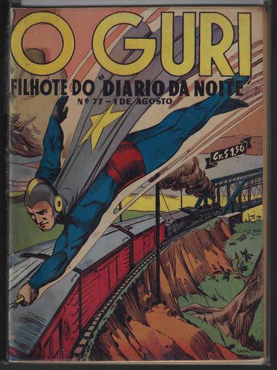 Cover for O Guri Comico (O Cruzeiro, 1940 series) #77