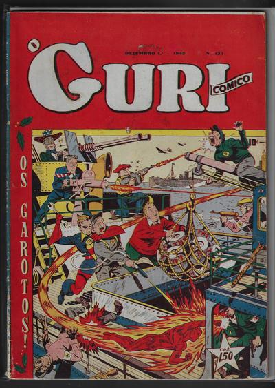 Cover for O Guri Comico (O Cruzeiro, 1940 series) #133