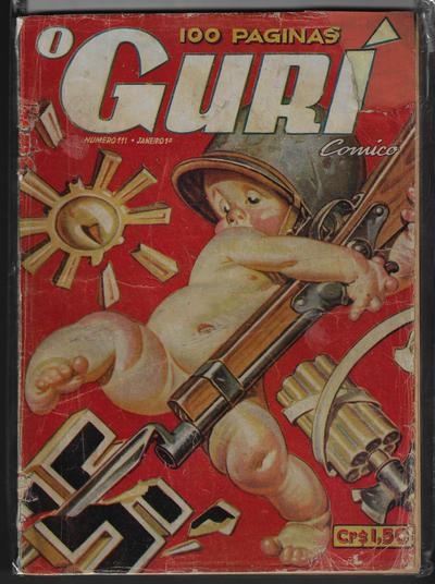 Cover for O Guri Comico (O Cruzeiro, 1940 series) #111