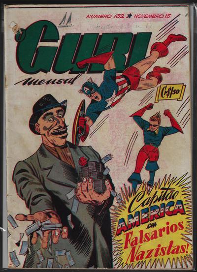 Cover for O Guri Comico (O Cruzeiro, 1940 series) #132