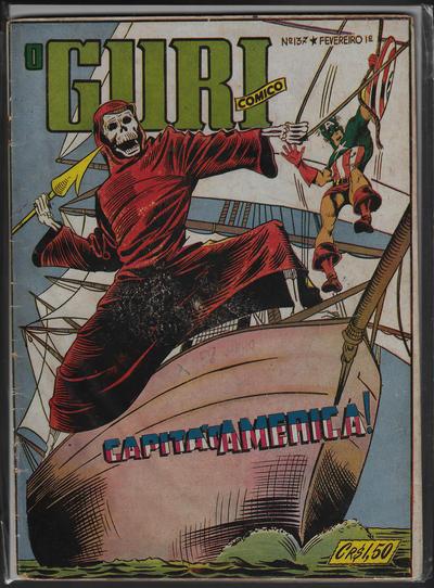 Cover for O Guri Comico (O Cruzeiro, 1940 series) #137
