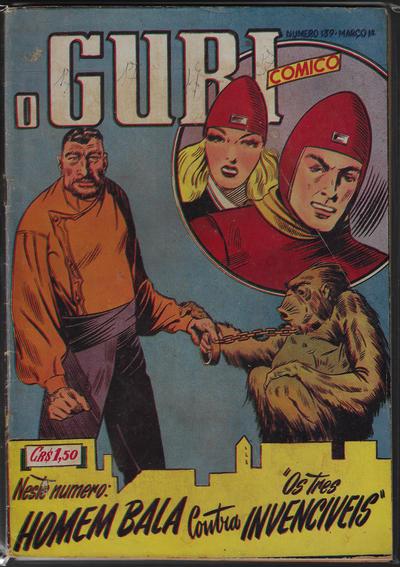 Cover for O Guri Comico (O Cruzeiro, 1940 series) #139