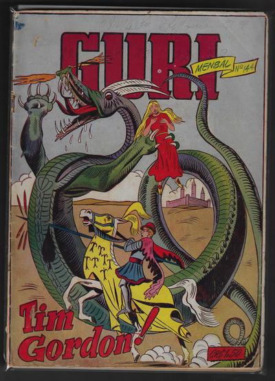 Cover for O Guri Comico (O Cruzeiro, 1940 series) #144