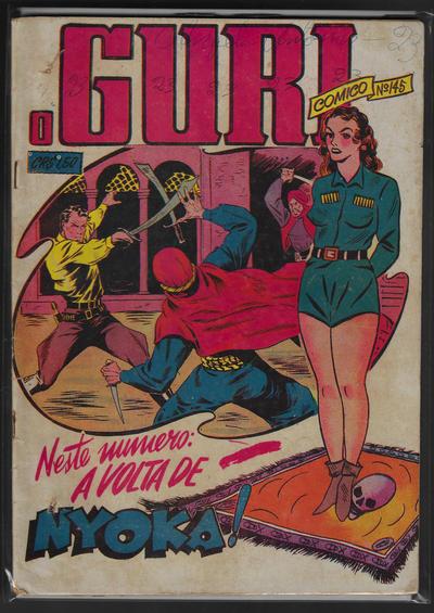 Cover for O Guri Comico (O Cruzeiro, 1940 series) #145