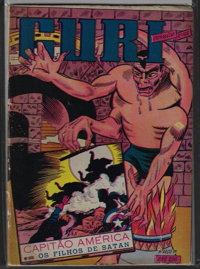 Cover for O Guri Comico (O Cruzeiro, 1940 series) #163