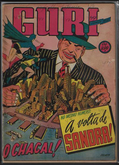 Cover for O Guri Comico (O Cruzeiro, 1940 series) #171
