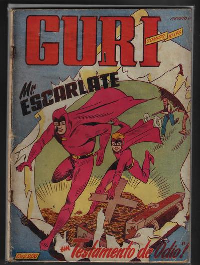 Cover for O Guri Comico (O Cruzeiro, 1940 series) #173