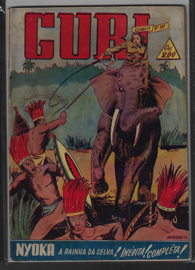 Cover for O Guri Comico (O Cruzeiro, 1940 series) #177