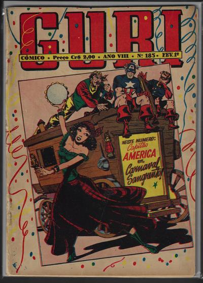 Cover for O Guri Comico (O Cruzeiro, 1940 series) #185