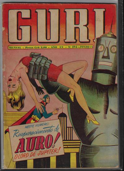Cover for O Guri Comico (O Cruzeiro, 1940 series) #194