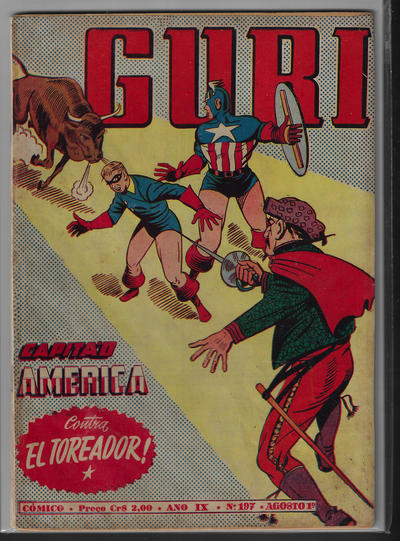 Cover for O Guri Comico (O Cruzeiro, 1940 series) #197