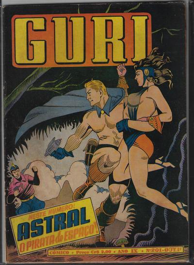 Cover for O Guri Comico (O Cruzeiro, 1940 series) #201