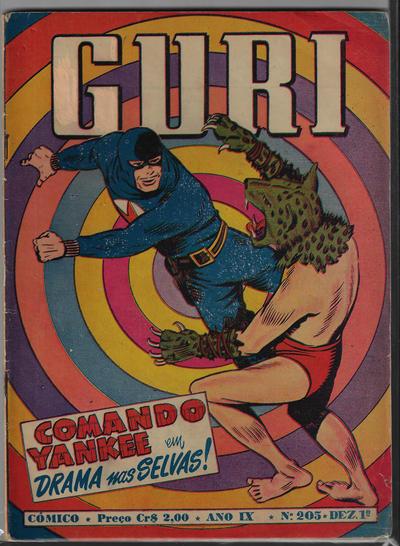 Cover for O Guri Comico (O Cruzeiro, 1940 series) #205